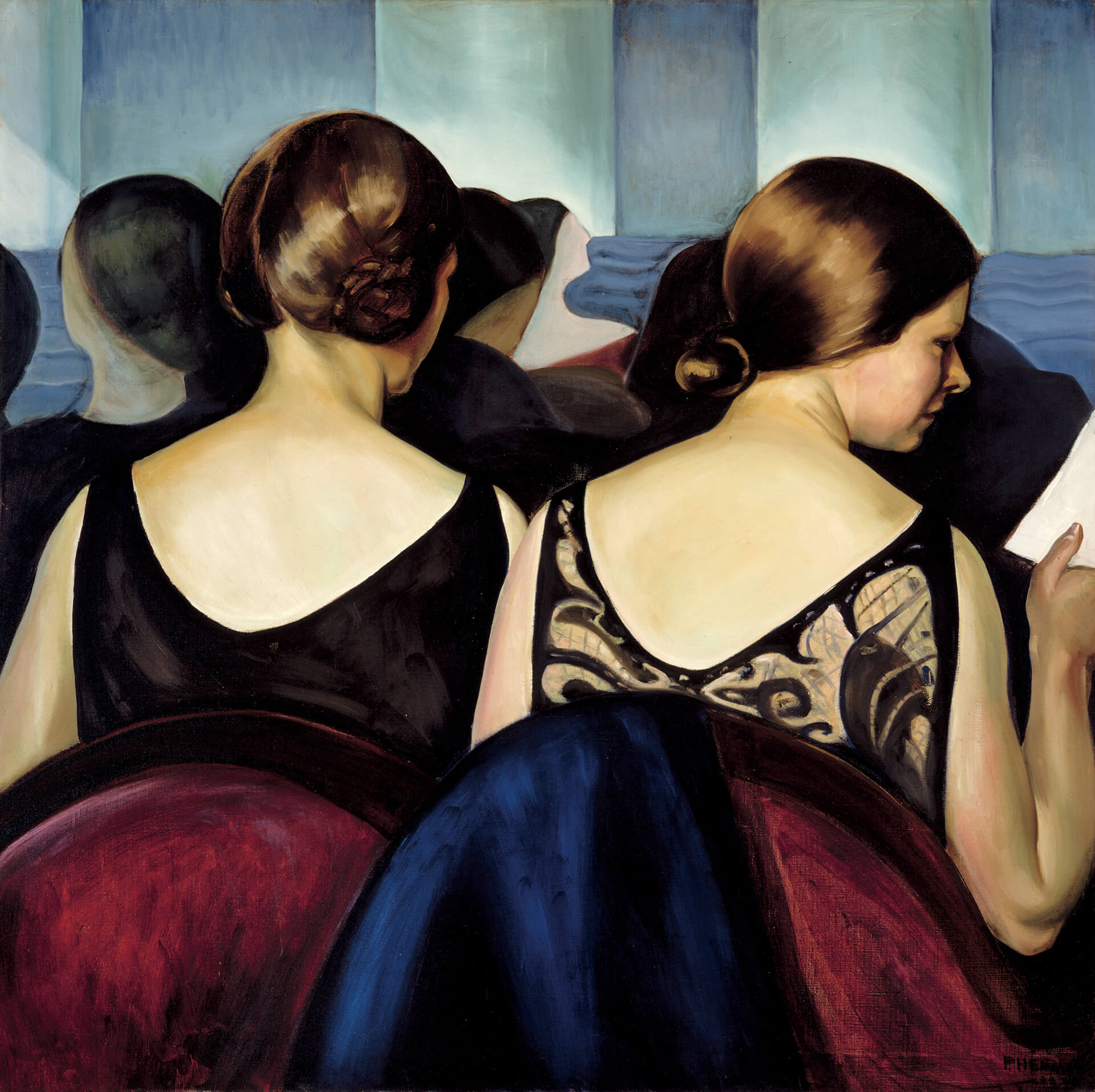 Prudence Heward, At the Theatre, 1928