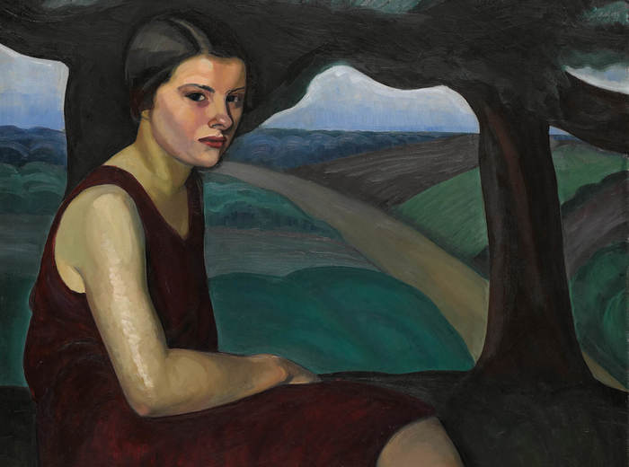 Prudence Heward, Girl on a Hill, 1928