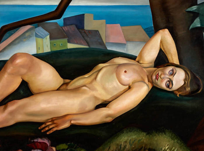 Prudence Heward, Girl Under a Tree, 1931