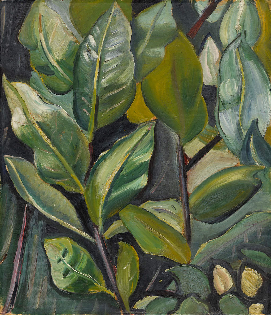 Art Canada Institute, Prudence Heward, Leaves (Study for Portrait of Barbara), c. 1933