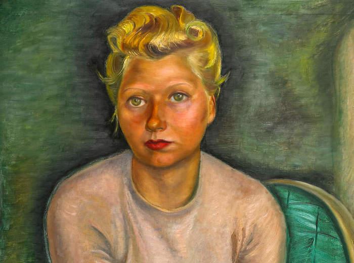 Prudence Heward, Portrait (Mrs. Zimmerman), 1943