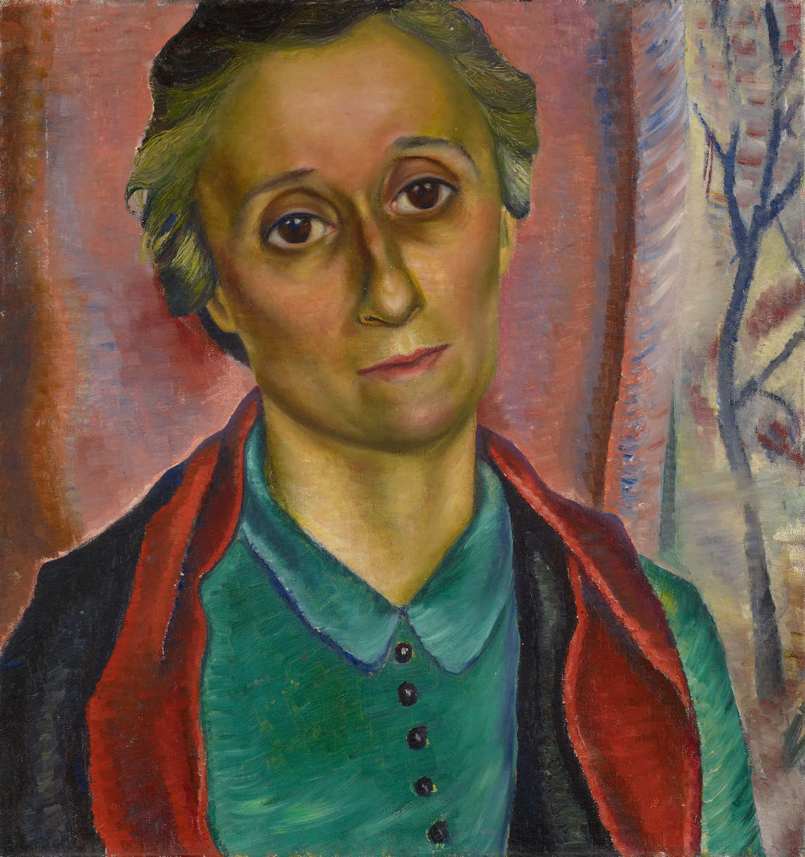 Art Canada Institute, Prudence Heward, Portrait Study, 1938, portrait of her sister Rooney
