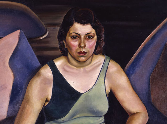 Prudence Heward, The Bather, 1930