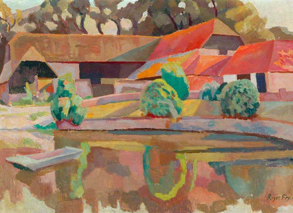 Art Canada Institute, Roger Fry, The Farm Pond, Charleston, 1918