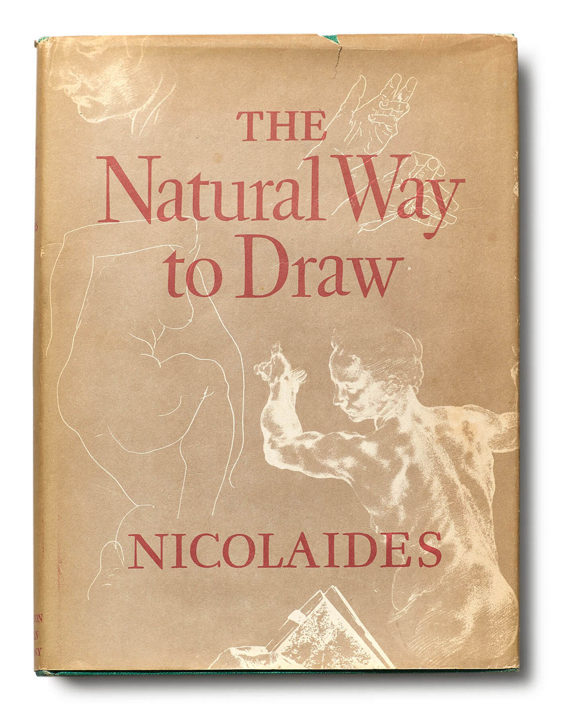 Art Canada Institute, William Kurelek, cover of Kimon Nicolaïdes's The Natural Way to Draw, 1969