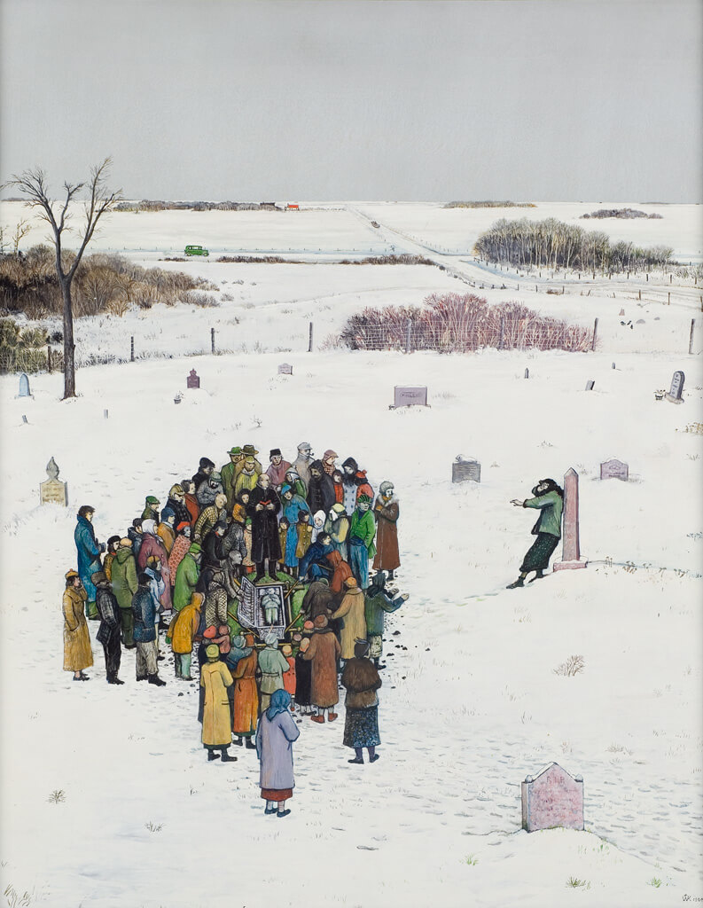 Art Canada Institute, William Kurelek, Lest We Repent…, 1964