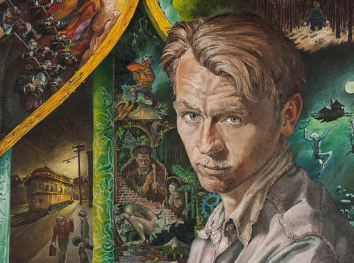 William Kurelek,Portrait de l'artiste en jeune homme, 1950
