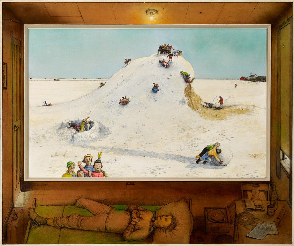 William Kurelek,Souvenirs d'enfance, 1968