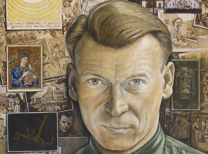 William Kurelek,Autoportrait, 1957
