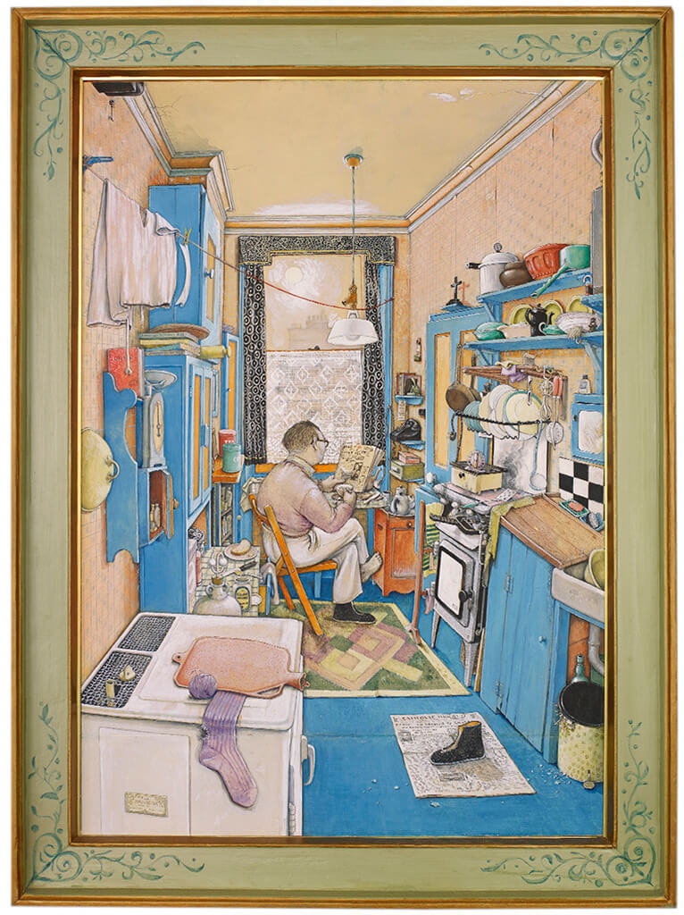 Art Canada Institute, William Kurelek, The Bachelor, 1955