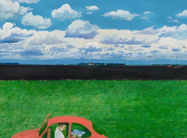 William Kurelek,Le peintre, 1974