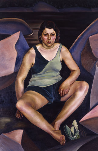 Prudence Heward, The Bather, 1930