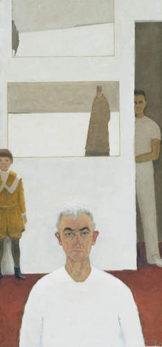 Jean Paul Lemieux, Self-portrait (Autoportrait), 1974