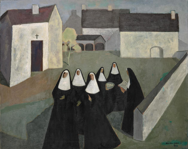 Jean Paul Lemieux, The Ursuline Nuns, 1951