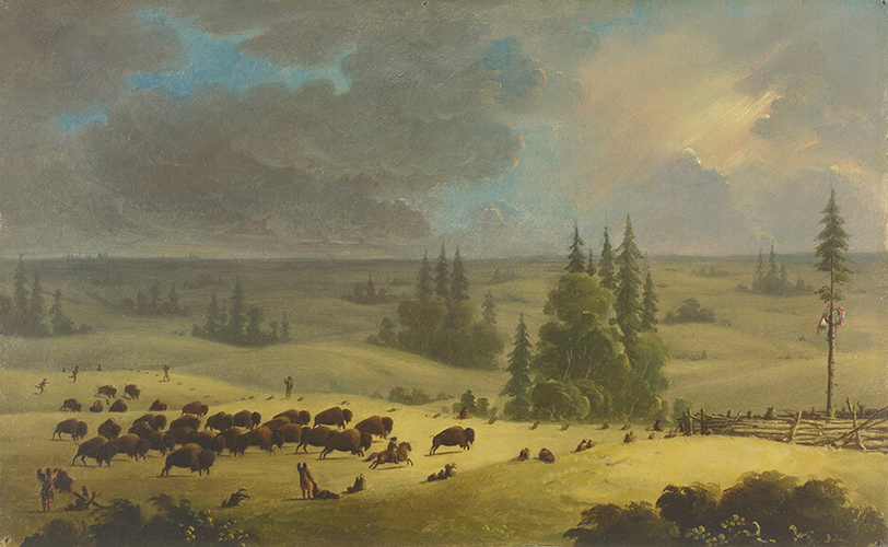 Paul Kane, The Buffalo Pound, c.1846–1849