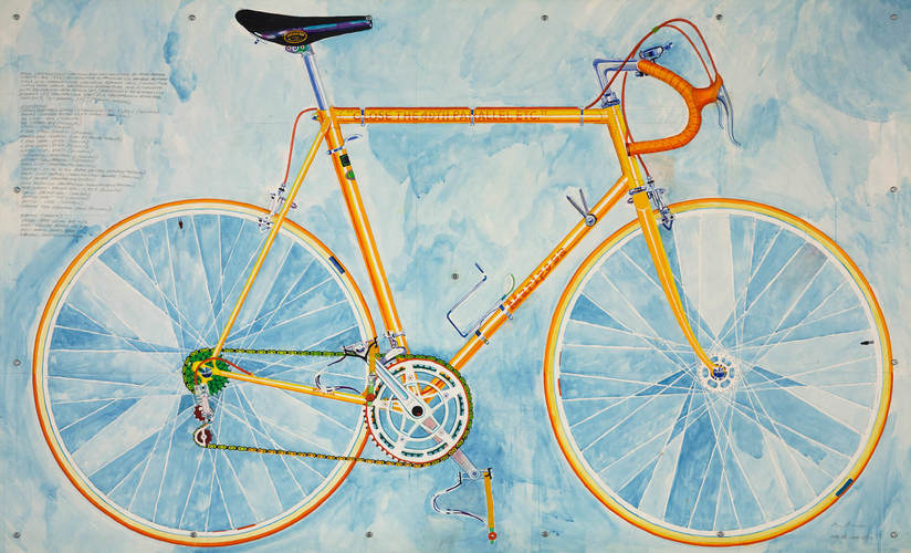 Greg Curnoe, Mariposa 10 Speed No. 2, 1973