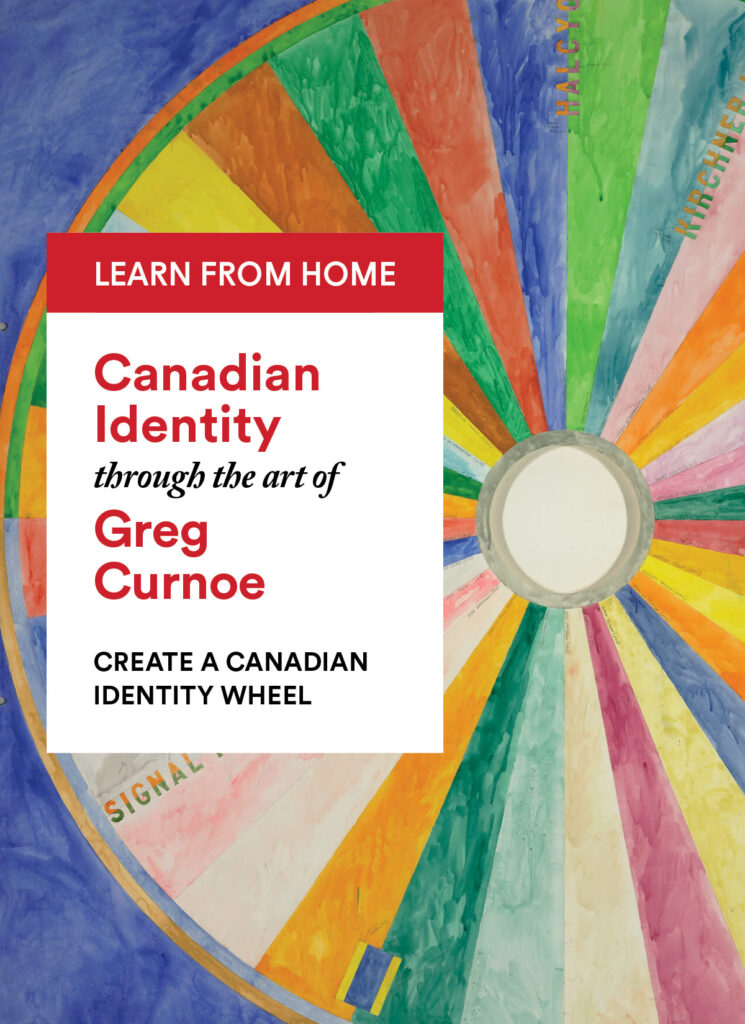 "Greg Curnoe: Create a ""Canadian Identity"" Wheel"