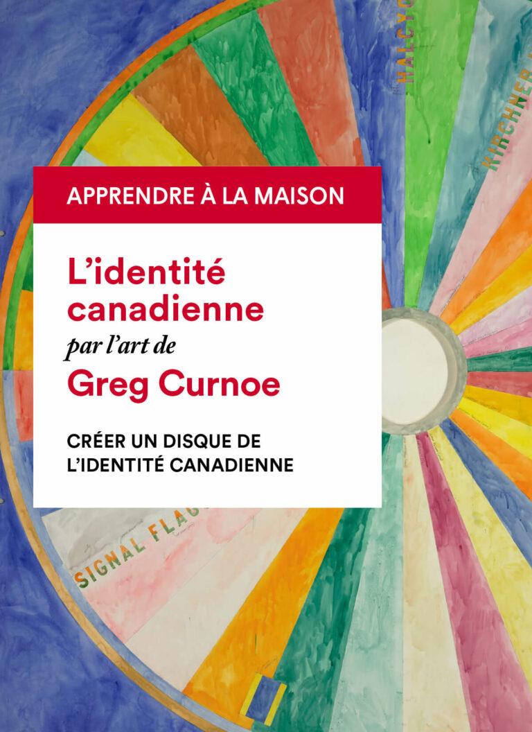 Greg Curnoe : Création d'un disque de l'identité canadienne