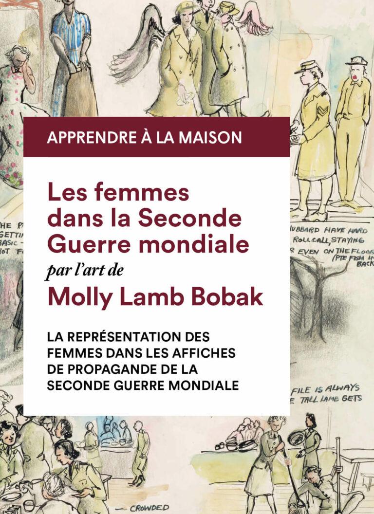 Molly Lamb Bobak : La représentation des femmes dans les affiches de propagande de la seconde guerre mondiale
