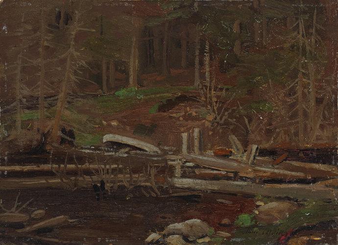 Tom Thomson Algonquin Influence Art Canada Institute