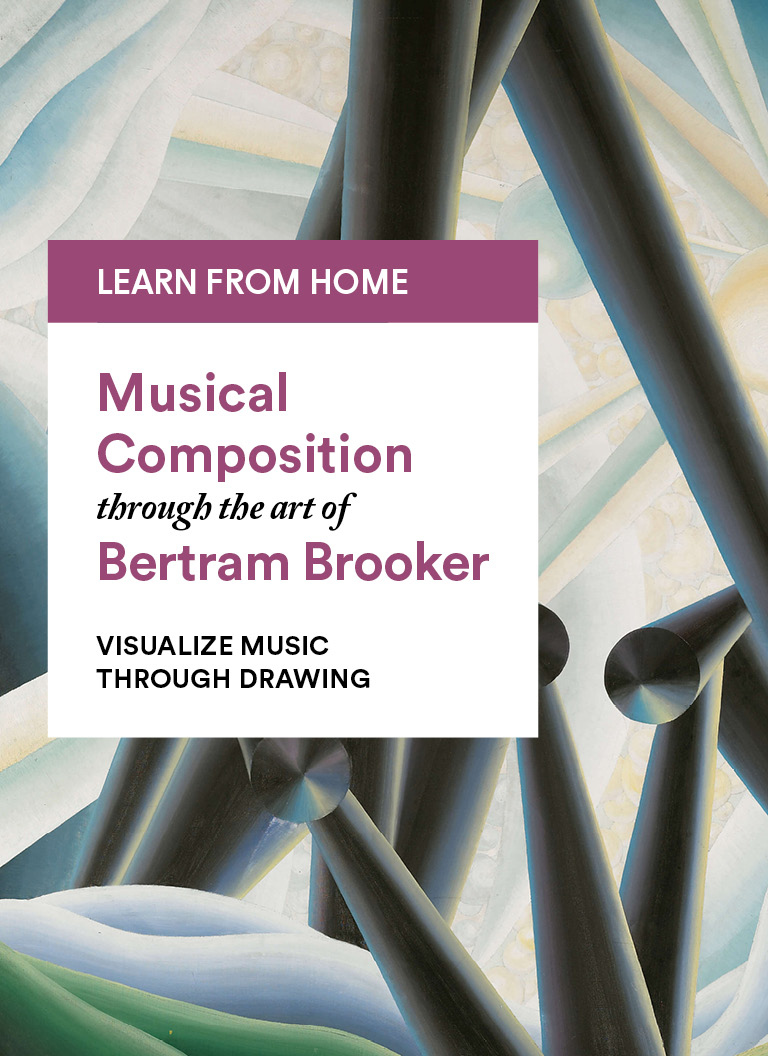 Bertram Brooker: Visualize Music through Drawing