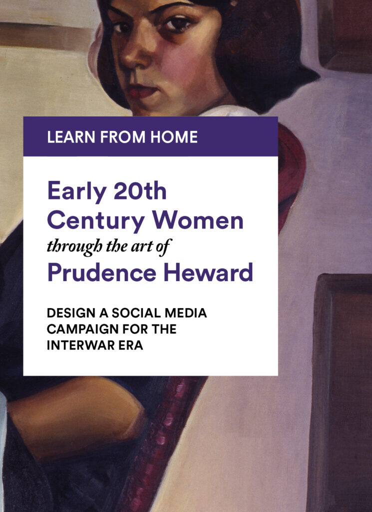 Prudence Heward: Design a Social Media Campaign for the Interwar Era
