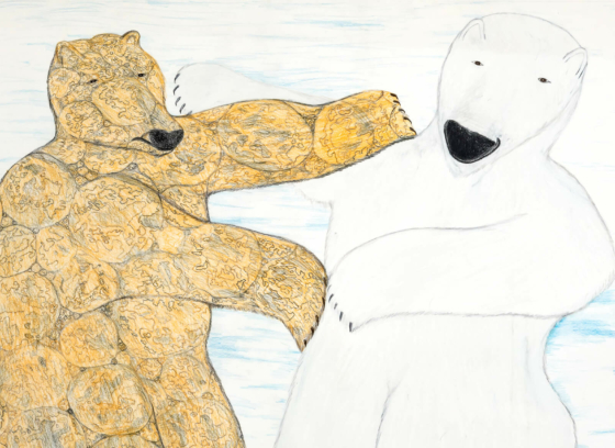 Untitled (two bears)