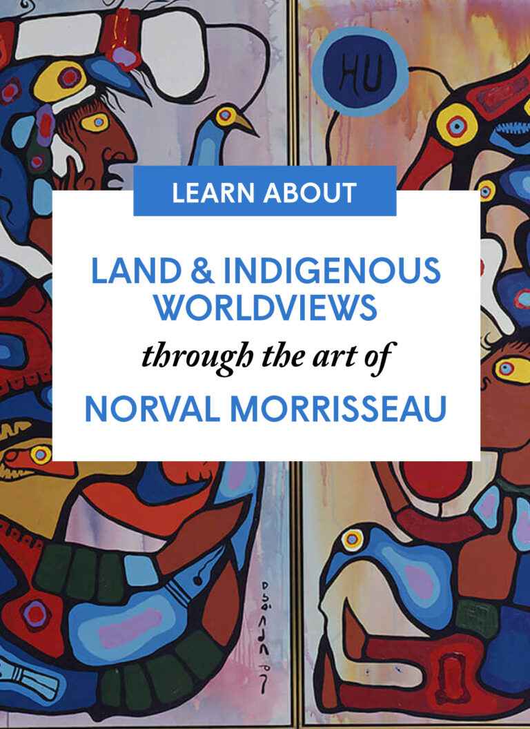 Land & Indigenous Worldviews through the art of Norval Morrisseau