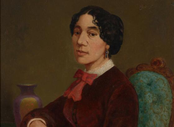 Portrait of Christiana Carteaux Bannister