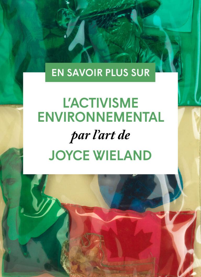 L'activisme environnemental par l'art de Joyce Wieland