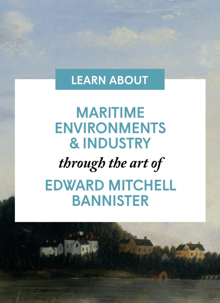 Maritime Environments and Industry through the art of Edward Mitchell Bannister