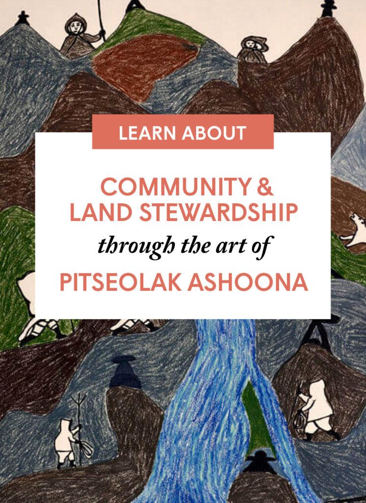 Community & Land Stewardship through the art of Pitseolak Ashoona