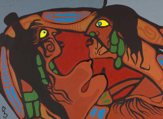 Artist in Union with Mother Earth (L'artiste s'unit à la Terre-Mère)