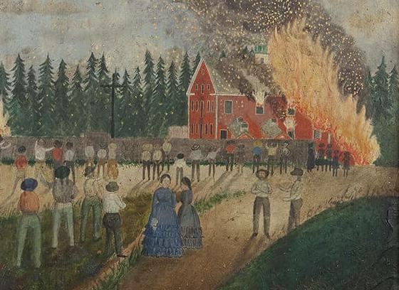 Incendie du moulin à papier de Lorette