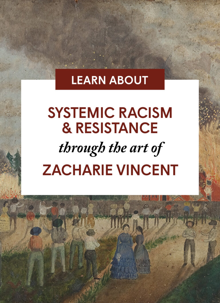 Systemic Racism and Resistance through the art of Zacharie Vincent