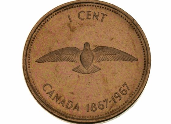 Centennial Coin, Alex Colville, 1 cent