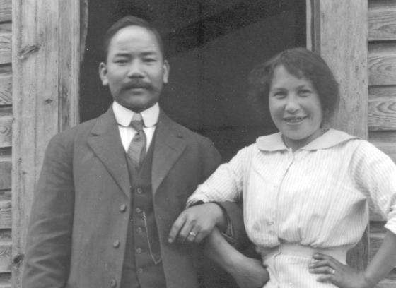 C.D. Hoy and Josephine Alexander