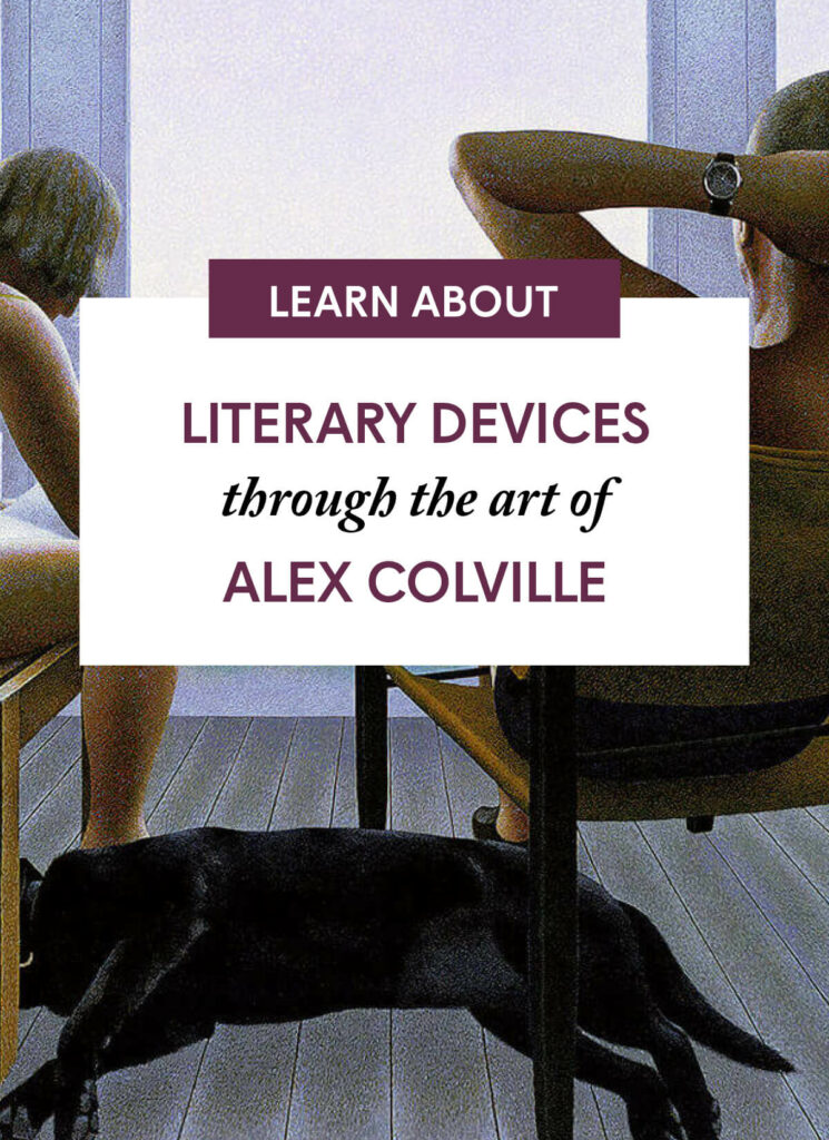 Literary Devices through the art of Alex Colville