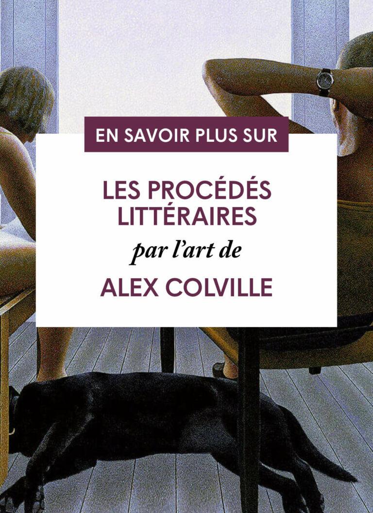 Les procédés littéraires par l'art de Alex Colville