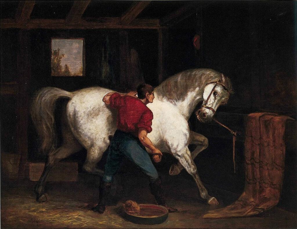 Governor Sprague's White Horse