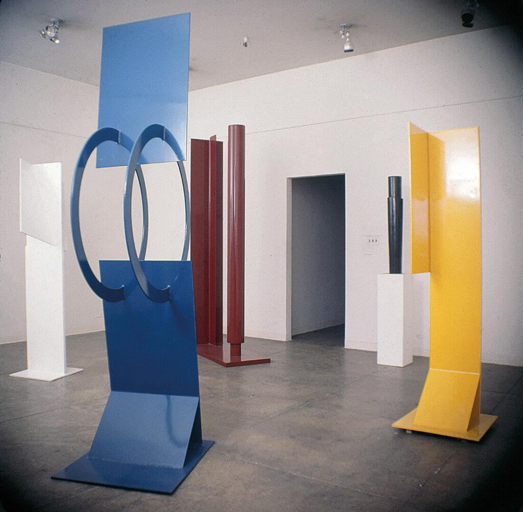 « Robert Murray, sculpture peinte» à la galerie Betty Parsons