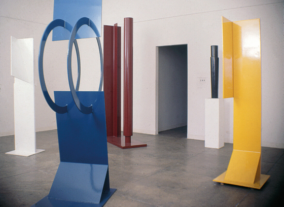 """""""Robert Murray, Painted Sculpture"""" at Betty Parsons Gallery"""